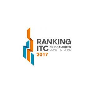 Ranking ITC  As 100 Melhores Construtoras - 2017