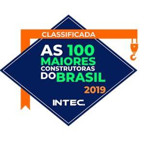 Ranking ITC As 100 Melhores Construtoras - 2019